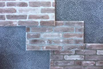 voegkleur Wall-of-Steen bakstenen-muur