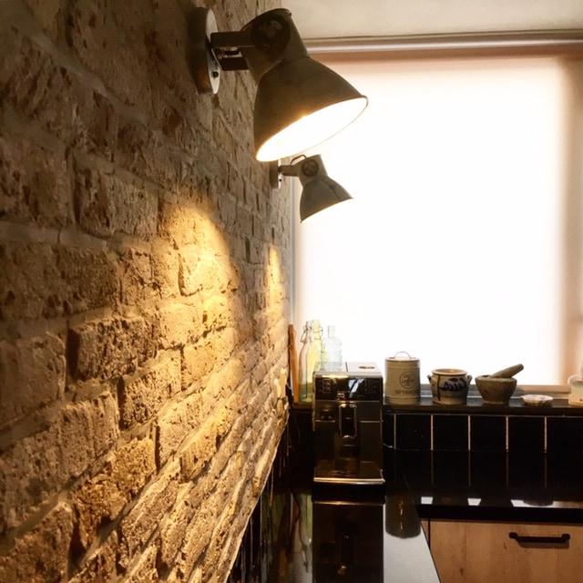 bakstenen muur coating-industriële muur-unieke muur-industriele bakstenen muur