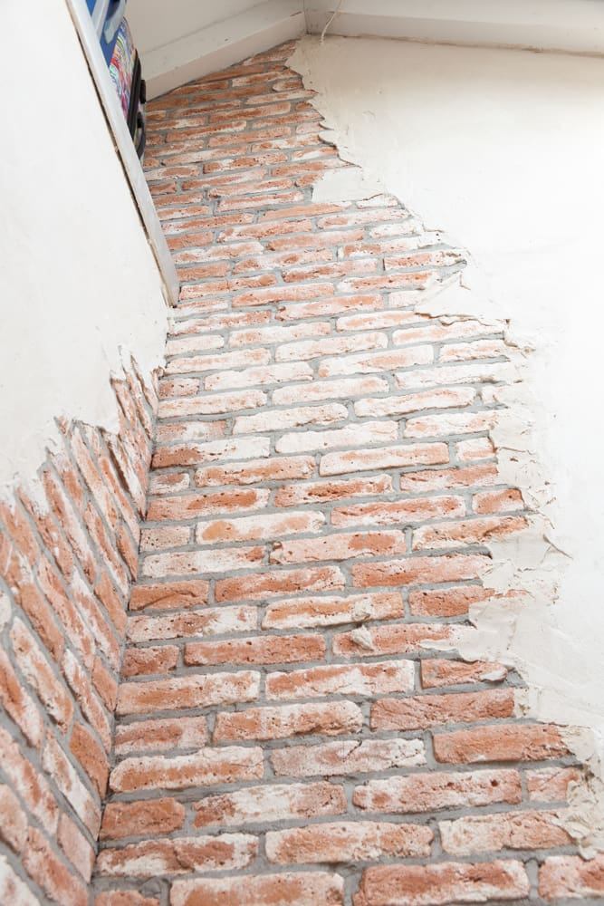 unieke muur-handgemaakte steenstrips-stuclaag