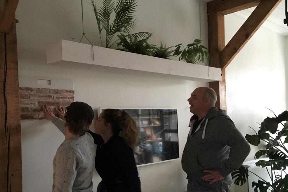 advies op locatie - proefmuurtjes - van Wall of Steen - bij Jellina Detmar