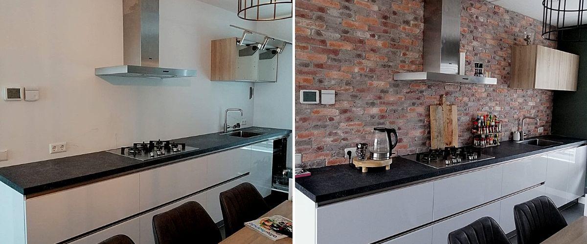 keukenmuur-bakstenen muur-Wallofsteen