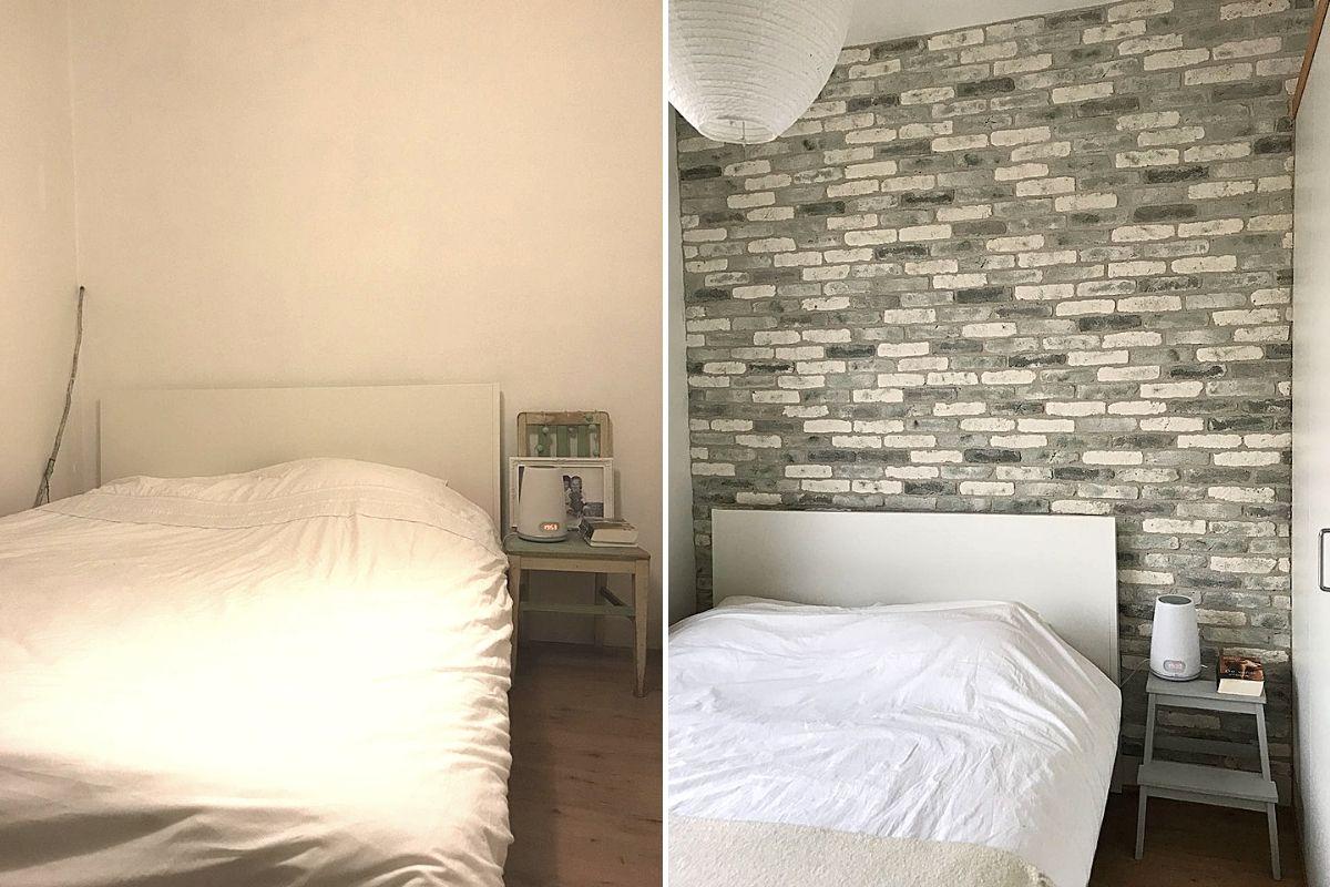 wallofsteen-earlydew-trendy kleuren-slaapkamermuur-stoere muur